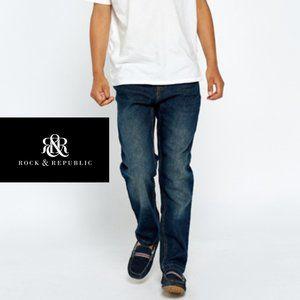 Rock + Republic Straight Leg Jeans - Size 10